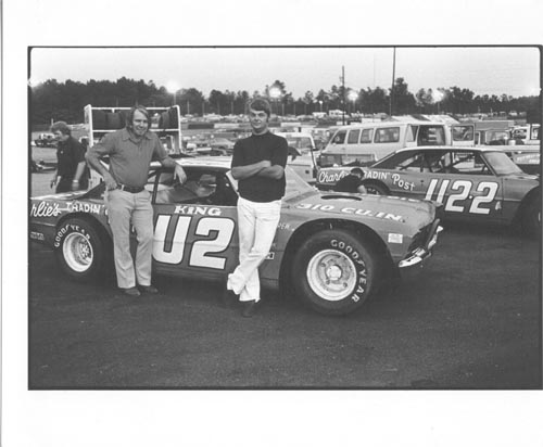 Charlie & Mike Bagwell at Dixie Speedway