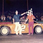 Charlie Bagwell - 1976 Dixie Speedway