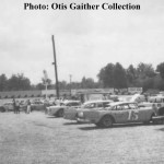 1964 July - Boyds Speedway pit area