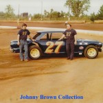 Val Gussforton and Johnny Brown
