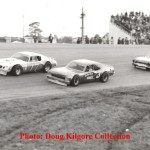 Darrell Waltrip, Luther Carter and Jack Bland - Five Flags Speedway