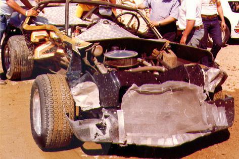 Billy Clanton wreck
